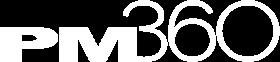 PM360 white logo